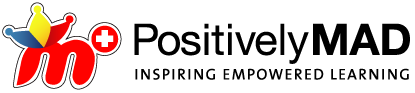 Positively MAD Logo